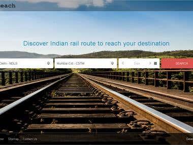Advance Train Searching Website - CodeIgniter