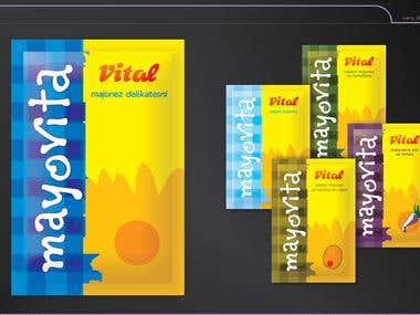 Logo and Label Design for Vital