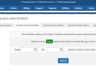 WHMCS + XERO Integration