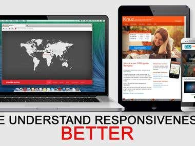 WE KNOW RESPONSIVE DESIGN BETTER