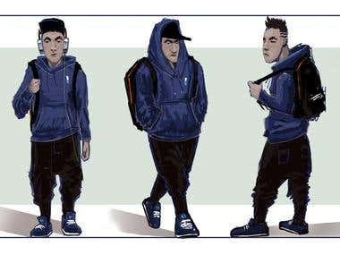\'\'Martin\'\' Character concept