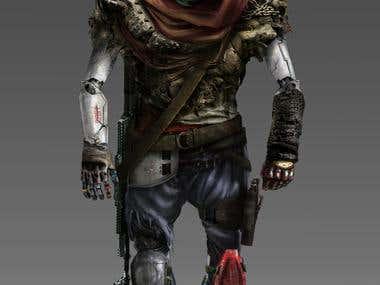 \'\'Rebel Robot\'\' Character concept
