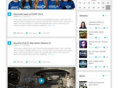 Games4u   website redesign