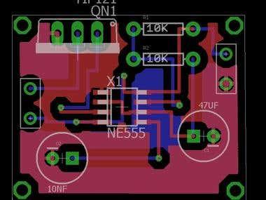 A Tiny Timer PCB