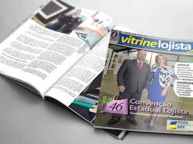 revista Vitrine Lojista - setembro 2015