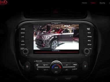 Car leasing website