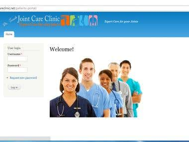 Insurance application for Clinic