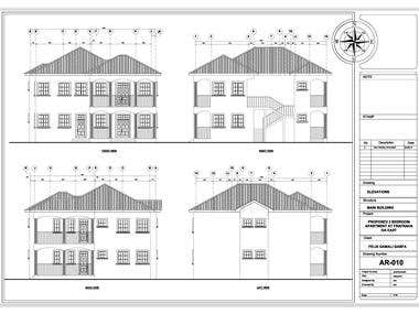 PROPOSED TWO BEDROOM APARTMENT FOR F.G. GBAFA @ FRAFRAHA