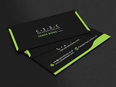 Business Cards/Corporate Iidentity