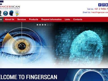 Biometric Device  Website (www.fingerscan.com.au)