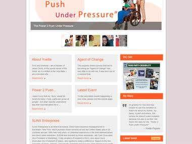 Wordpress Blog Website