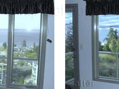 Real Estate Retouching