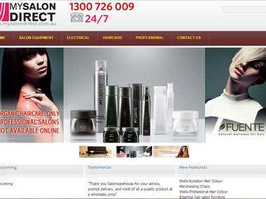 Saloon E-Commerce
