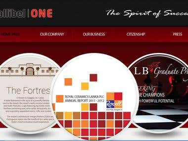 Web Site for Restaurant