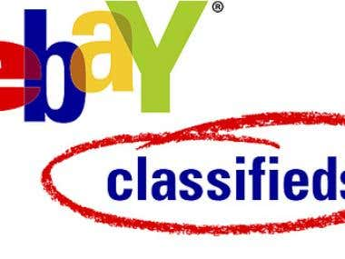 Free Classified ad Poster on Ebay Classified