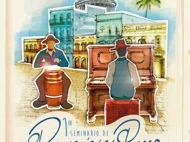 Percusión y Piano Cubano