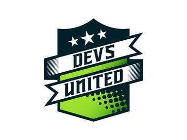 Devs United Logo Design