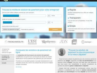 Limpidmarket.fr, payment processing comparison website