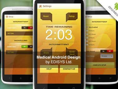 UI Design for Medical Android app