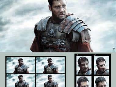 Gladiator Portrait