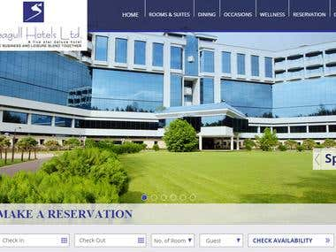 International Hotel Website by WordPress