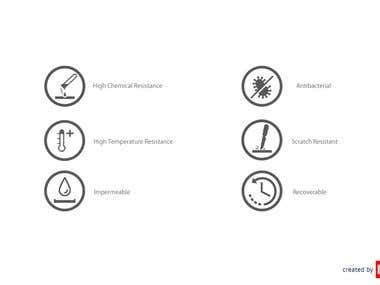 icons created by me for a laboraotry benchtop product