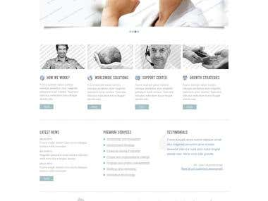 Web Designing Project