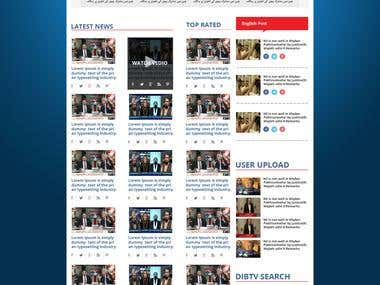 LANDING PAGE HTML5