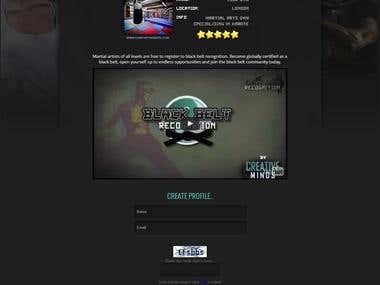 CUSTOM CMS PHP WEBSITE