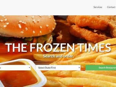 Online Food Ordering Multiple Vendors