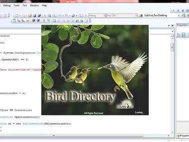 Animal Directory - C#.net