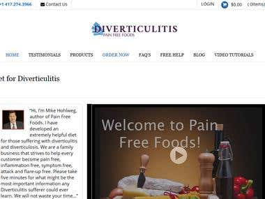 Diverticulitis Pain Free foods (Foods Store)