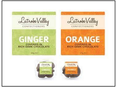 Latrobe Valley labels