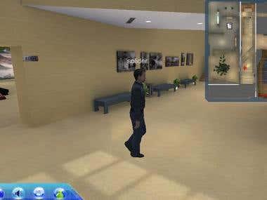 an online 3d virtual museum written via unity/c#/webplayer