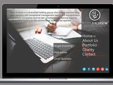 Investor Website Design