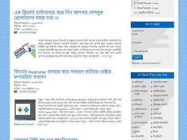 Wordpress blogsite development
