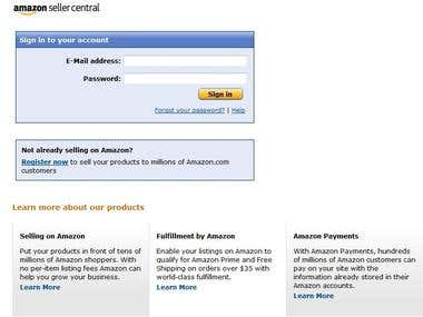 Amazon Products upload with EAN Number (With SEO)