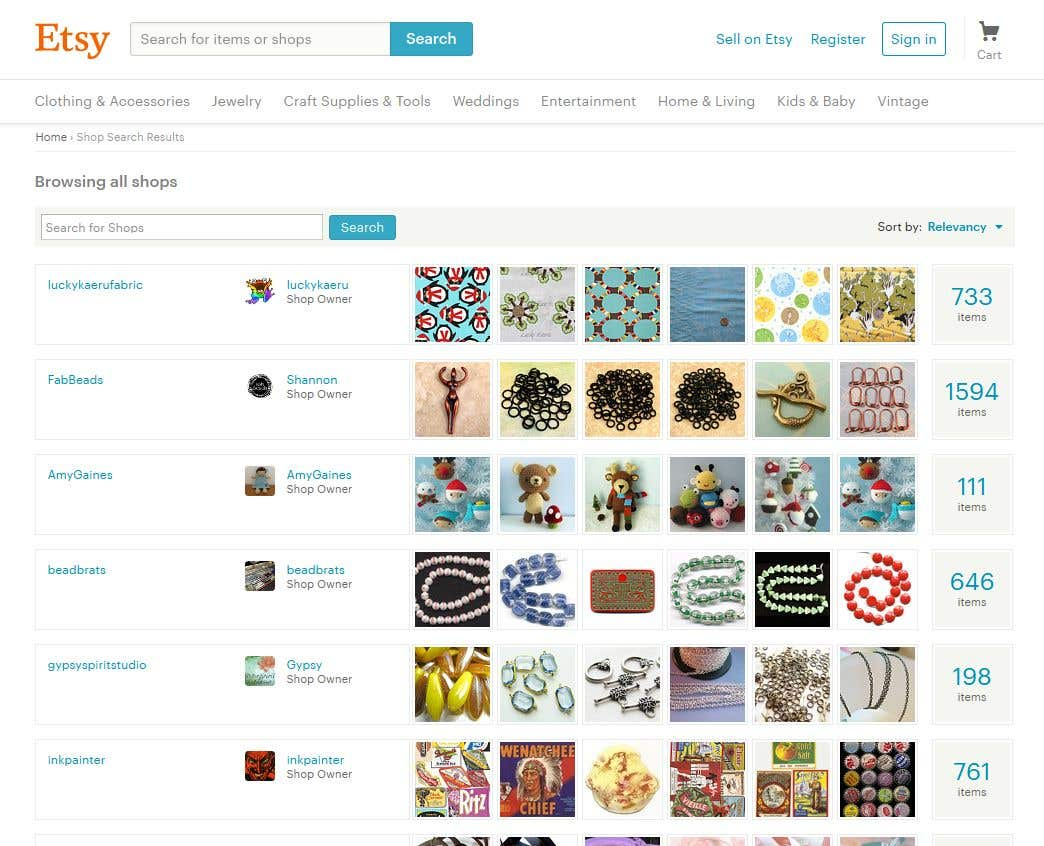 ETSY products upload and it\'s SEO