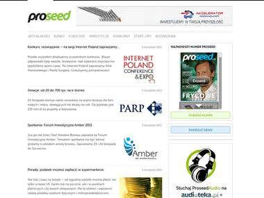 Proseed Online - start-ups and technology information portal