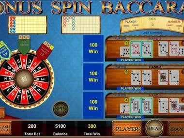 Baccarat Bonus Spin (Casino Game)