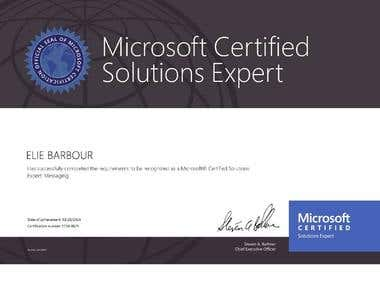 Microsoft Certified Solution Expert Exchange 2013