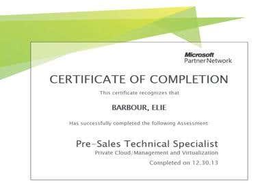 Certified Cloud & Virtualization