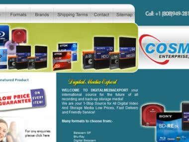 Digital Media Export