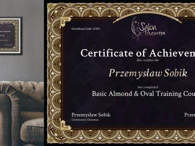 Certificate Project