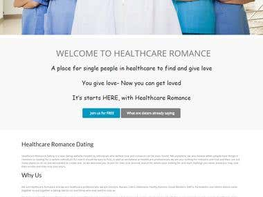 Health Care Romance Dating WebSite