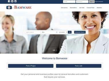 Job platform bamwase.com