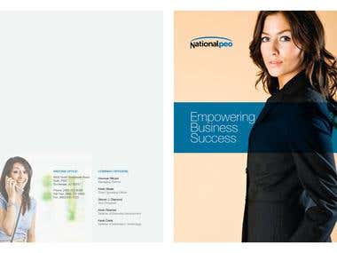 Corporate cover page designs