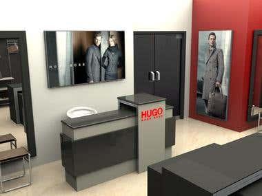 Hugo Boss - Conceptual Store