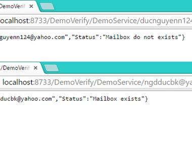 Email Verify Service