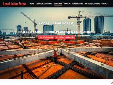 locallaborforce.com  custom cms made with codeigniter